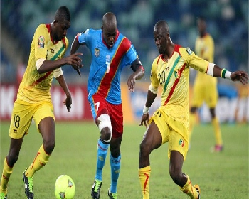 Les Léopards du Congo face au Mali à la Can 2013