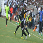 TP Mazembe joue contre AS V Club à Lubumbashi le 25.5.2014