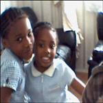 Mes 2 jolies princesses Brinel et Love from London(Royaume Uni).