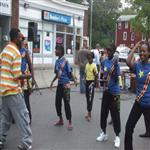 Congolese dance at a festival in Syracuse, NY (WWW.DRCCCNY.ORG)