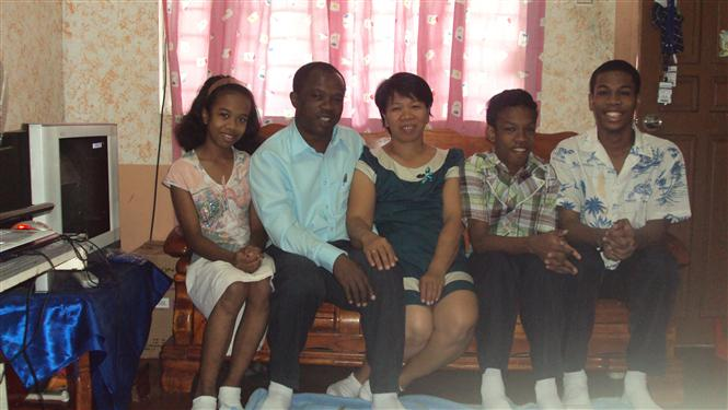 Lutia Family on Jan 1, 2011
